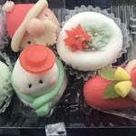 葵園 - 料理写真:季節の和菓子