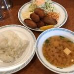 ゲンジ - カキフライ定食