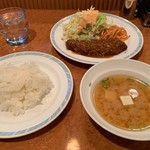 ゲンジ - ビフカツ定食