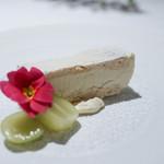 イル コラッツィエーレ - メレンゲ生地で挟んだマスカルポーネチーズのセミフレッド☆