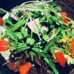 居間居酒屋 ハマヤマ - 菜の花生野菜サラダ