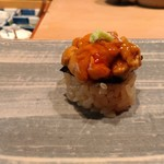 98440648 - 『ウニ(長崎県産)』  全く臭みなく、とろけるような食感でした(^_^)