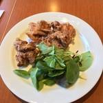 Cafe Restaurant Lavender - メインの唐揚げ