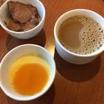 Cafe Restaurant Lavender - クリームビュルレ、チョコムース、コーヒー