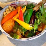 Rojiura Curry SAMURAI. - チキンと1日分の野菜