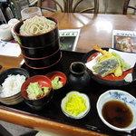 そば処 和心 - 料理写真:そばセット1050円