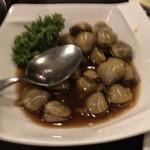 青葉 - シジミのニンニク醤油煮