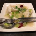 青葉 - スミイカの塩味炒め