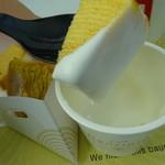Cafeねんりん家 - 無料のホイップクリーム