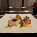 銀座うかい亭 - 前菜