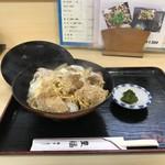 豊福 - 豊福さんでの牡蠣第二弾は、カキフライ丼850円です!(2018.12.15)