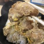 豊福 - 大粒の牡蠣フライが6個も!(2018.12.15)