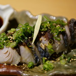 日本酒原価酒蔵 - 炙り〆鯖