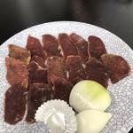 さるふつまるごと館 - 鹿肉 ¥1.100