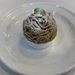 サロン・ド・テ ペシェ・ミニョン - 料理写真:和栗のモンブラン