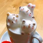 カフェ チョコッティー - FUWAMOKO ART DRINK 4oz CUP(880円 +税)
