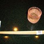 懐石 櫻 - 食前酒の梅酒とセット