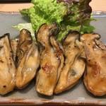 三代目 まる天 - 三陸 カキのバター焼き(アップ)