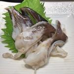 三代目 まる天 - とり貝のあぶり(アップ)