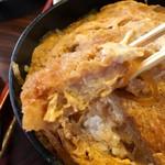 大金 - 曙定食のカツ丼