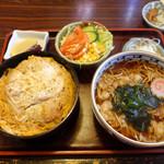 大金 - 曙定食(蕎麦)1,000円