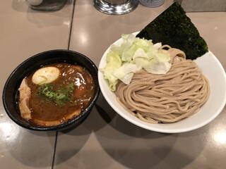 つけ麺 五ノ神製作所 新宿店 - 2018.12.2  海老つけ麺 全部入り