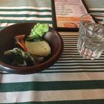 ドイスバナネイラ - スープか前菜は、前菜をチョイス