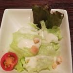 欧風カレー ソレイユ - ランチサラダ