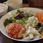レクレール - 豆腐ハンバーグランチ  800円