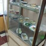 ことぶき食堂 - 店内の実物