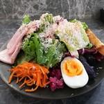 98467845 - たっぷり野菜のランチプレート(1ドリンク付き)(税別1500円)