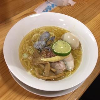 杏子 - 料理写真:しお 特製・全部のせ 750円