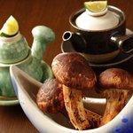 つきはし - 甘鯛と松茸の土瓶蒸し