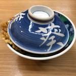 asakusatempuraaoimarushin - 冬季限定一日30食 冬の味覚天丼 ¥2,052-(税込)  器