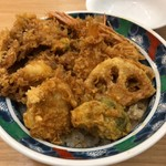 asakusatempuraaoimarushin - 冬季限定一日30食 冬の味覚天丼 ¥2,052-(税込)