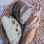 自家製酵母パン ひとつぶ - ハード系