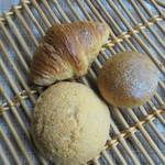 自家製酵母パン ひとつぶ - メロンパン・クロワッサン・ひとつぶ