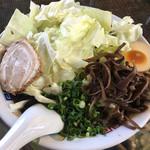 熊本らーめん 育元 - キャベツ麺