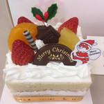 ローザンヌ - 幼稚園で頂いたクリスマス会のケーキ