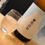 加賀能登の旬彩と地酒 ななお - 国権 山廃純米・120cc(500円+税)2018年11月