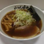 味楽 - 焼き醤油らーめん920円