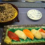 9848614 - 寿司そばセット