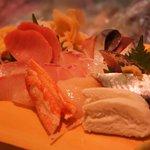 清六寿司 - 料理写真:刺し盛り♪