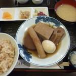 野毛おでん - '18/12/15 おでん定食(税込850円)
