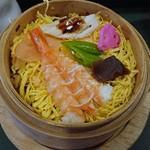 Uwoharu - ほっかほかの蒸し寿司