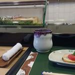 Uwoharu - ランチには旬の炊き合わせの小鉢がつきます