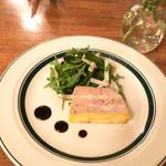 ニド・カフェ - 鶏ムネ肉とフォアグラの