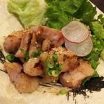 九州の地魚料理 侍 - ギアラ炒め
