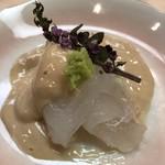 羽田市場 ギンザセブン - カワハギの肝醤油和え