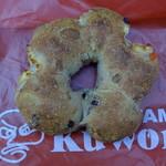 パン樹 久遠 - クルミとレーズンのカンパーニュチーズ